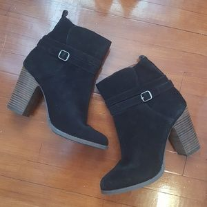 Lucky Brand Leather/Suede Booties